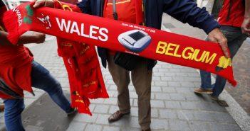 opstelling Belgie Wales